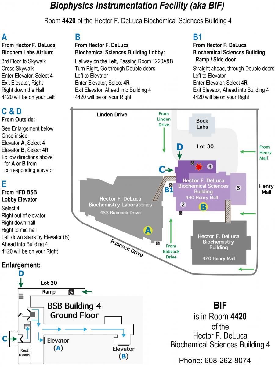 Map to BIF